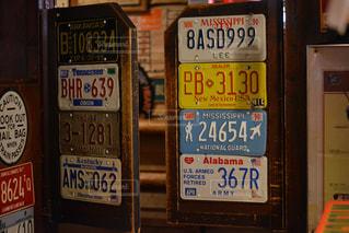 アメリカのロードサインコレクションの写真・画像素材[1173540]