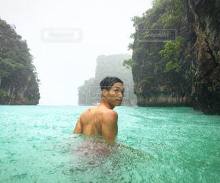 フィフィ島のビーチにての写真・画像素材[1174389]