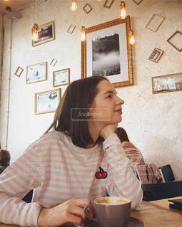 コーヒータイムの写真・画像素材[1225990]