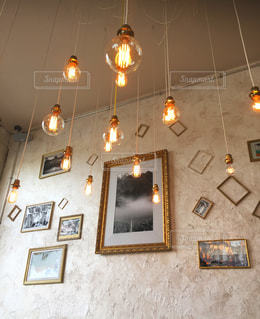 お洒落なカフェにての写真・画像素材[1500099]