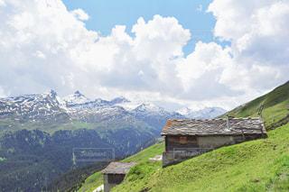アルプスの山の壮大な景色の写真・画像素材[1564757]