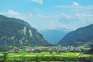 スイスの綺麗な景色の写真・画像素材[1566067]