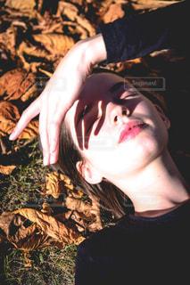 秋の終わりの写真・画像素材[1645781]