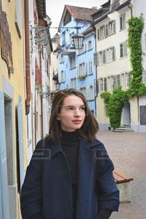 町を散策中にスナップの写真・画像素材[1645869]