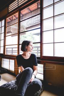 日本の和を堪能中の写真・画像素材[1684670]