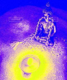 雪と瞑想の写真・画像素材[1176897]