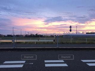 夕焼け空の写真・画像素材[1172834]
