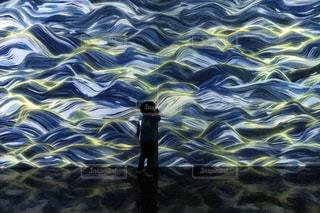 光の波の写真・画像素材[1173092]