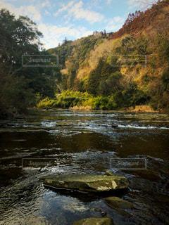 千葉県にある養老渓谷の景色ですの写真・画像素材[2107005]