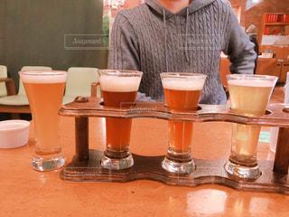 函館ビール4種の写真・画像素材[1175523]
