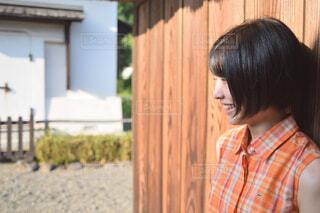 微笑む女の写真・画像素材[4287672]