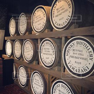 山崎の工場にて、ウイスキーの写真・画像素材[1187161]