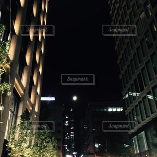 街の灯りの写真・画像素材[1195746]