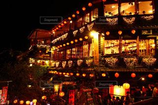 夜の街の写真・画像素材[1195624]
