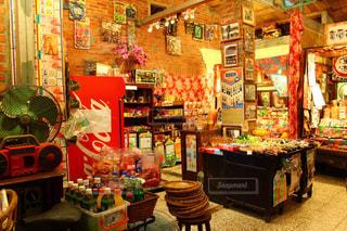 可愛い駄菓子屋の写真・画像素材[1195625]