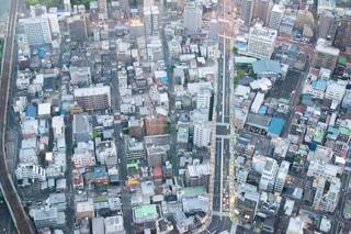 上からの都会の写真・画像素材[1178411]