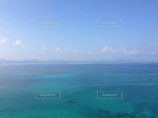 沖縄の海と空の写真・画像素材[1179745]