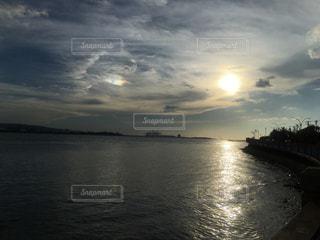海と夕日の写真・画像素材[1178691]