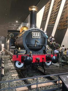 鋼のトラックの列車の写真・画像素材[1178854]