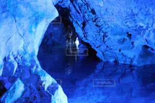 鍾乳洞の写真・画像素材[1185014]