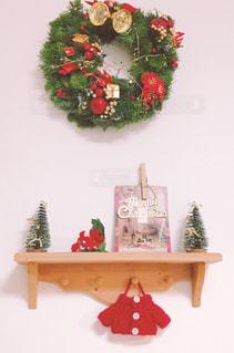 クリスマスディスプレイの写真・画像素材[1185820]