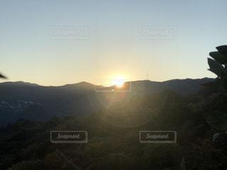 美しい朝の写真・画像素材[1180533]