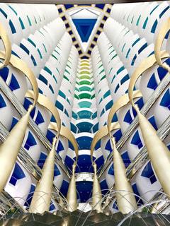 ドバイの7つ星ホテルのブルジュ・アル・アラブの写真・画像素材[1180243]