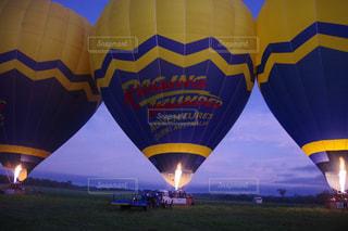 熱気球の写真・画像素材[1188939]