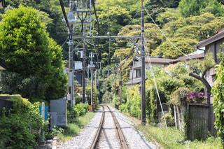 鎌倉の踏切の写真・画像素材[1182610]