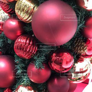クリスマスカラーの写真・画像素材[1642364]
