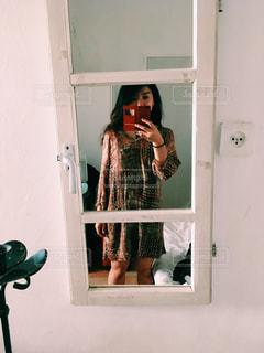 ドアみたいな鏡 - No.1185024