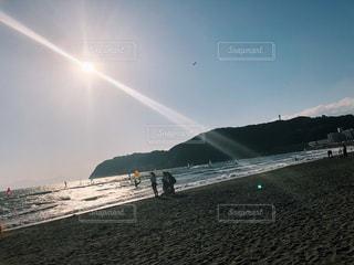 虹の砂浜の写真・画像素材[1183763]