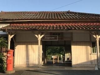 ノスタルジック 網田駅の写真・画像素材[1183977]