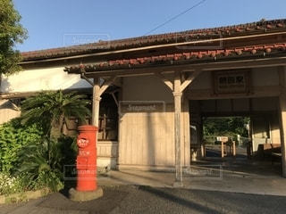 ノスタルジック 網田駅の写真・画像素材[1183978]
