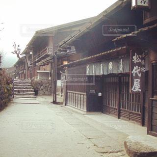 妻籠宿の写真・画像素材[1187873]