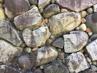 石垣の積み方の写真・画像素材[1204511]