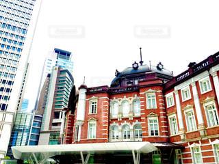 東京駅の前からの写真・画像素材[1274746]
