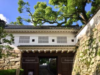 城門と青空の写真・画像素材[1368765]