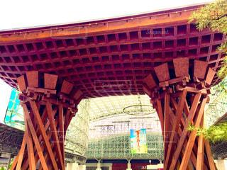 金沢駅の有名なアレの写真・画像素材[1380241]