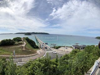 夏の絶景の橋!の写真・画像素材[1465727]