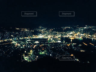 稲佐山の夜景の写真・画像素材[1184853]