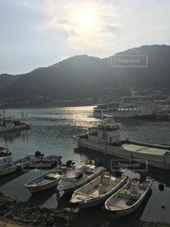 鞆の浦の夕景の写真・画像素材[1184886]