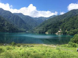 白水湖の写真・画像素材[1184887]