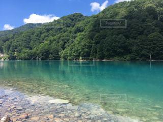 白水湖の写真・画像素材[1184888]