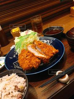 味噌カツ定食の写真・画像素材[1184975]