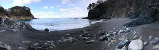 プライベートビーチの写真・画像素材[1184998]