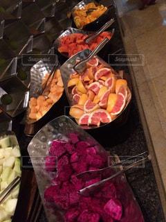 食品のプラスチック容器の写真・画像素材[1185324]