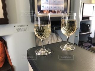 KLMにて出発の写真・画像素材[1227631]