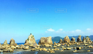 橋杭岩の写真・画像素材[1196196]