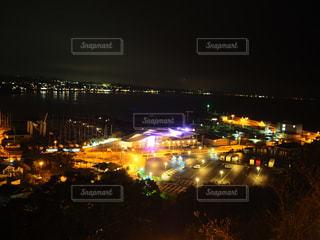 江ノ島の夜景の写真・画像素材[1670062]